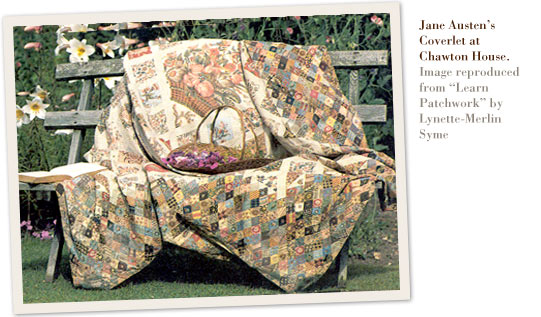 Jane Austen's Coverlet at Chawton House