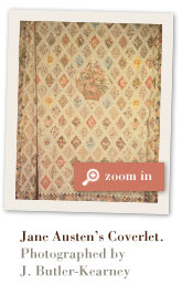 Jane Austen's Coverlet